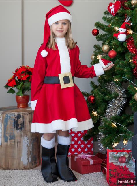 Mrs Clause Child Costume