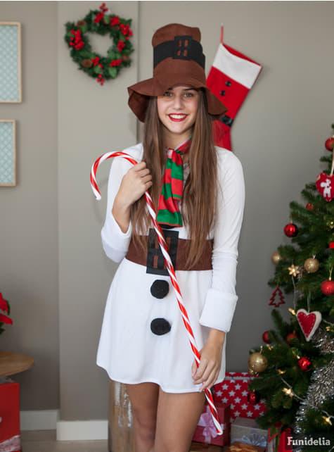 Snow-woman Adult Costume
