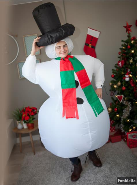Costum Om de Zăpadă gonflabil