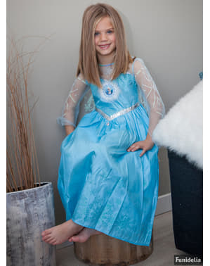 תלבושות Deluxe אלזה קפואות ילדים