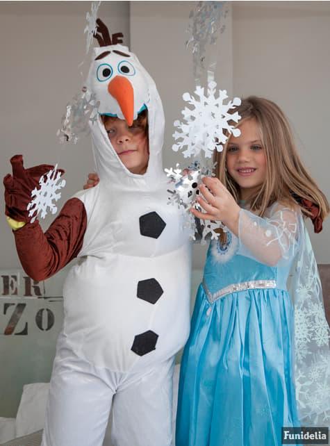 Disfraz de Elsa Frozen Deluxe para niña - Halloween