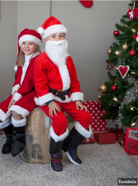 Disfraz de Santa Claus deluxe infantil - traje