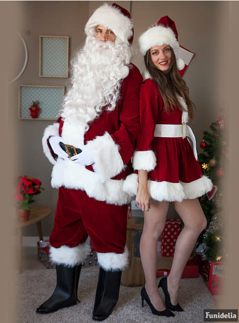 Upea joulupukin asu