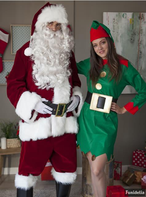 Disfraz de Papá Noel profesional - Carnaval