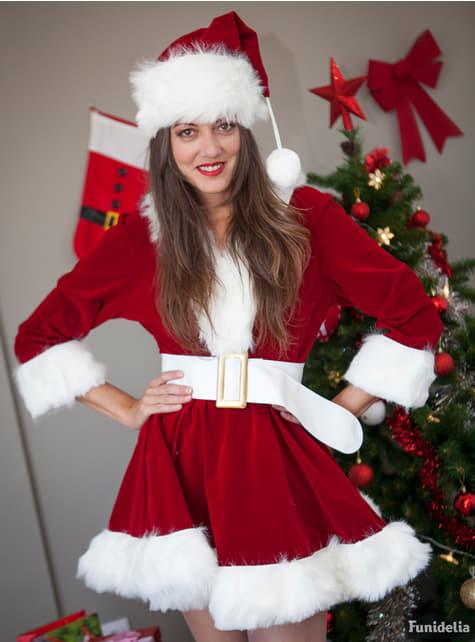 Disfraz de Mamá Noel sexy profesional para mujer - mujer