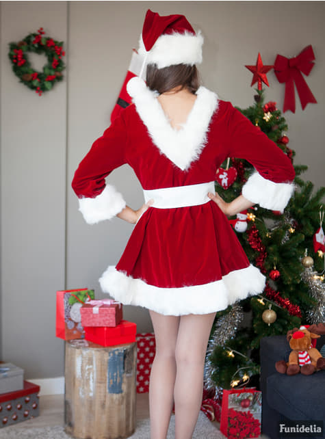 Sexy professional Mrs Claus costume for a woman