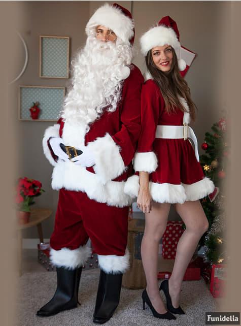 Disfraz de Mamá Noel sexy profesional para mujer - traje