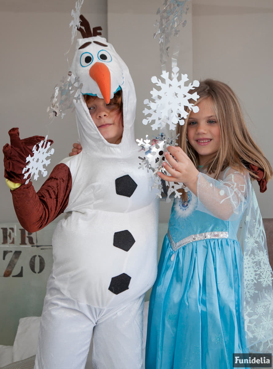 ba6282dbbfea Frozen Olaf costume for a child. Fast delivery | Funidelia