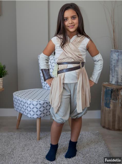 Disfraz de Rey Star Wars Episodio 7 para niña - niña