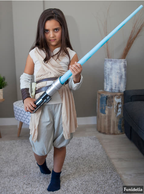 Fato de Rey Star Wars Episódio VII para menina