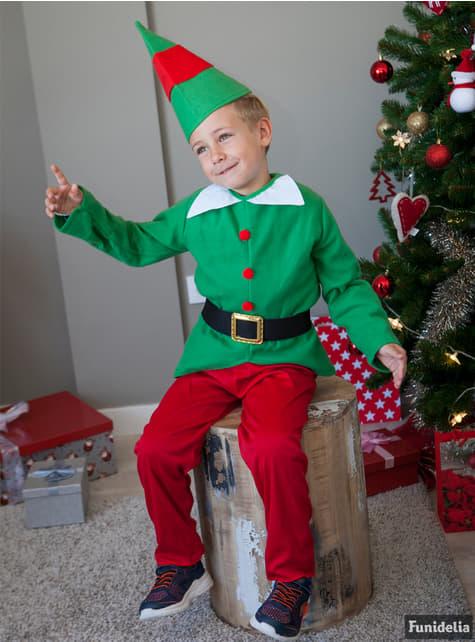 Disfraz de elfo divertido para niño - hombre