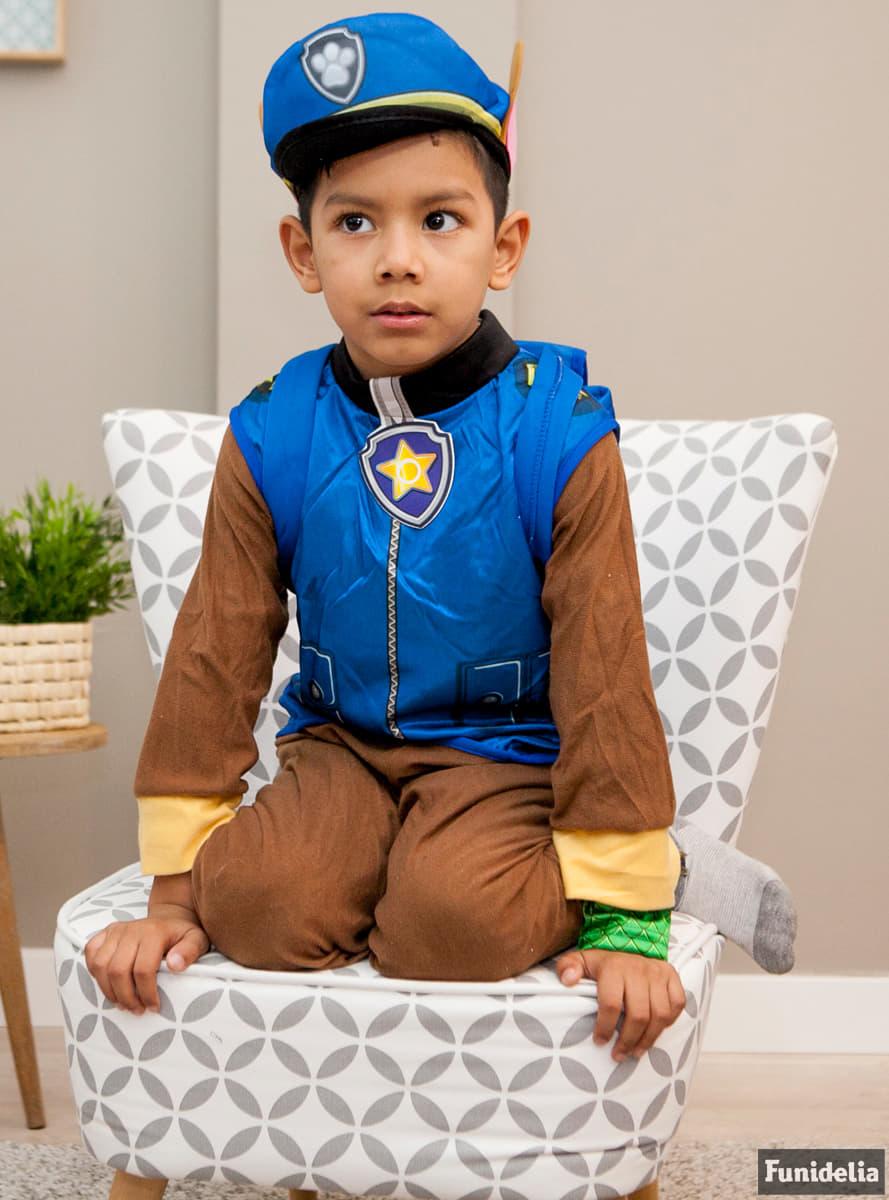 costume chase la pat 39 patrouille enfant funidelia. Black Bedroom Furniture Sets. Home Design Ideas
