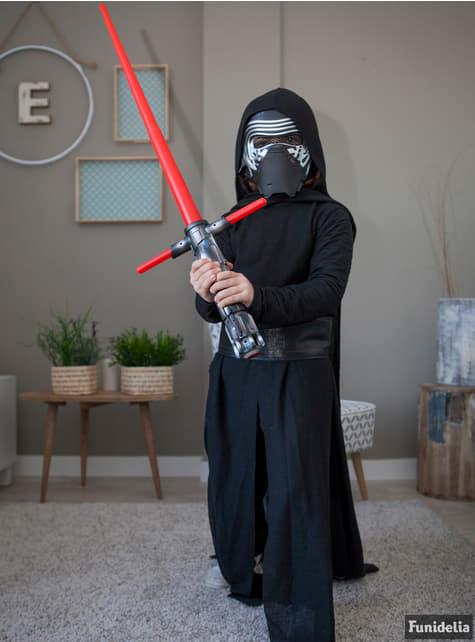 Disfraz de Kylo Ren Star Wars Episodio 7 prestige para niño - infantil
