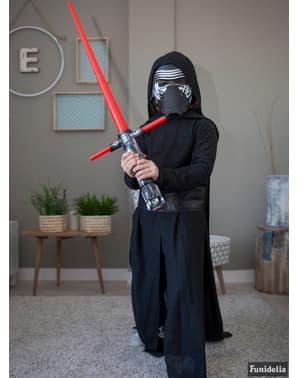 Fato de Kylo Ren Star Wars Episódio VII prestige para menino