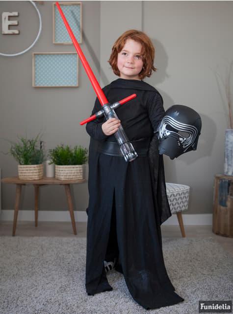 Disfraz de Kylo Ren Star Wars Episodio 7 prestige para niño - original
