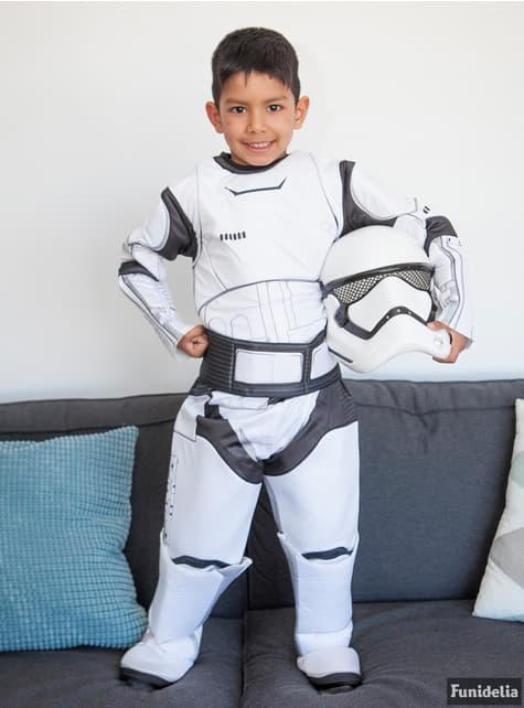 Stormtrooper Kostüm deluxe für Jungen Star Wars Episode 7
