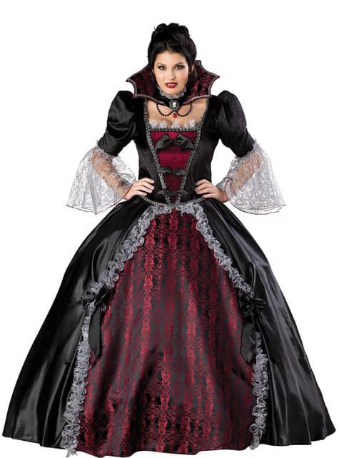 Déguisement de vampiresse de Versailles Élite