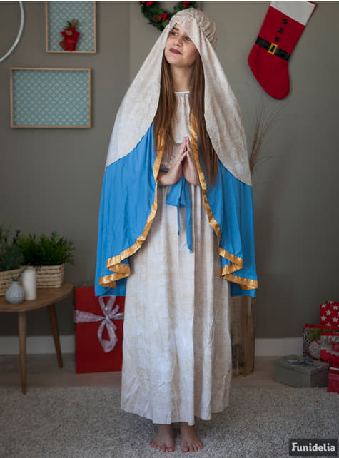 Disfraz de Virgen María para mujer - mujer