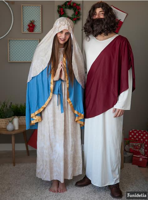 Disfraz de Virgen María para mujer - original