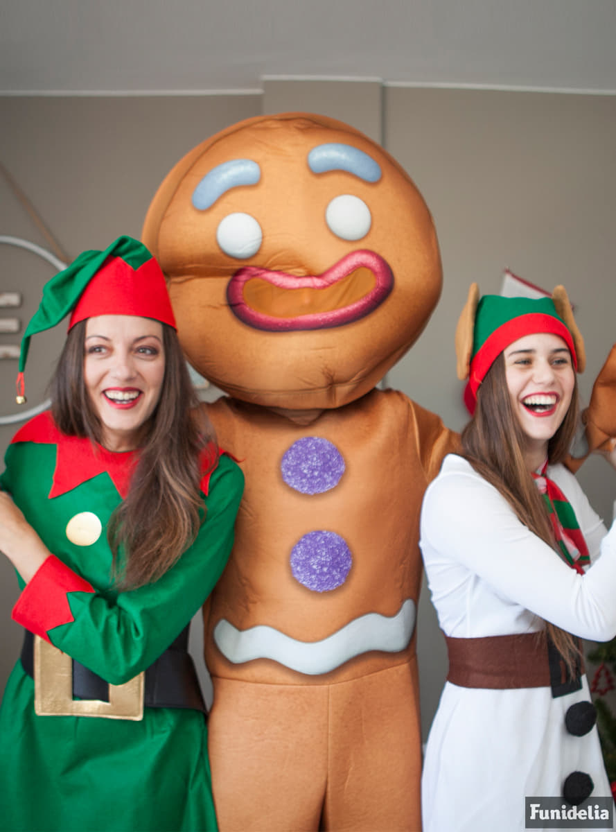 Adultu0027s Deluxe Gingerbread Man Shrek Costume  sc 1 st  Funidelia : gingerbread costume for adults  - Germanpascual.Com
