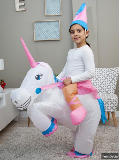 Disfraz de a lomos de mi unicornio para niña - traje