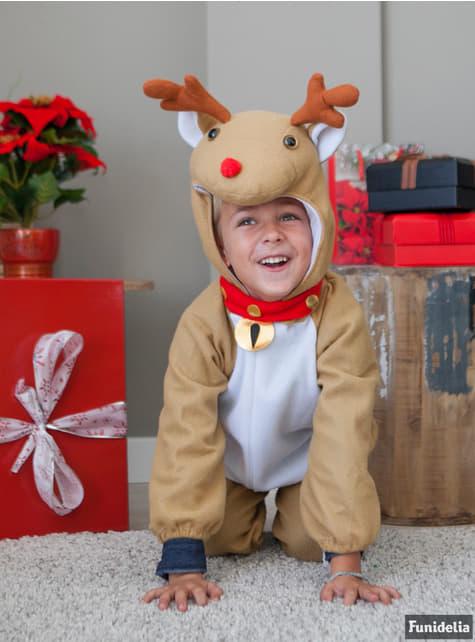 Disfraz de reno juguetón infantil - infantil