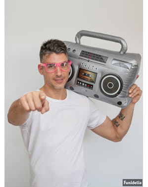 Okulary z rzęsami dla dorosłych