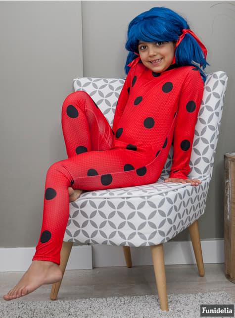 Ladybug Kostüm mit Augenmaske für Mädchen