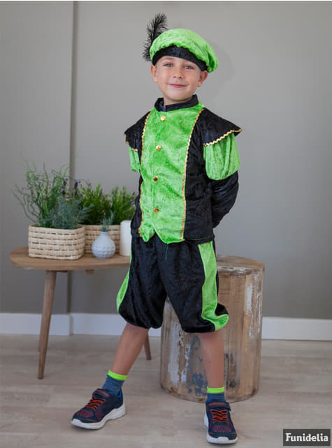 Saint Nicholas Little helper Costume in green