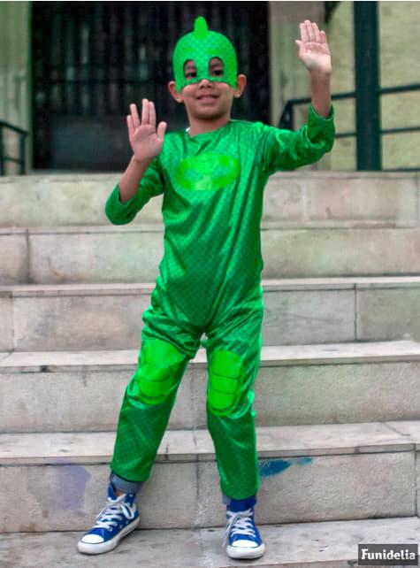 Disfraz Gekko PJ Masks para niño - hombre