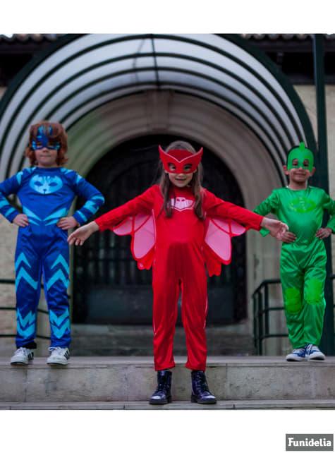 Costume Gufetta PJ Masks con maschera