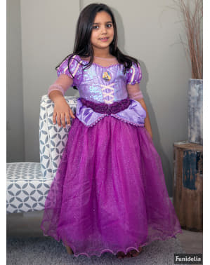 Prémium Rapunzel jelmez lányoknak
