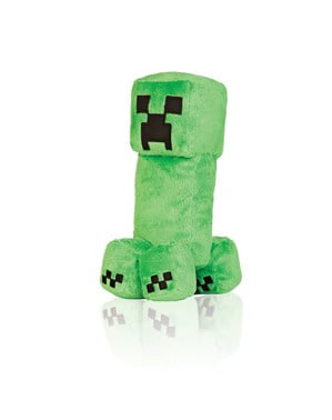Peluche de Minecraft Creeper 25 cm