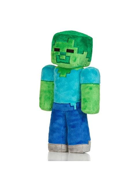 Peluche de Minecraft Zombie 30cm