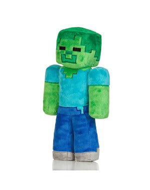 Minecraft Zombie plüss Játék 30 cm