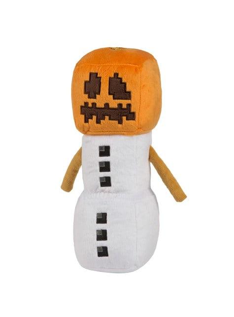 Peluche de Minecraft Golem de Neve 29 cm