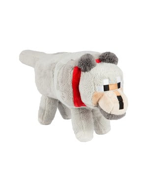 Minecraft Wolf Plush Toy 38 cm