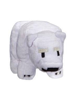 Knuffel Minecraft Baby Polar Bear Plush 18 cm
