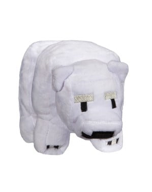 Minecraft baby polar bear small Plush Toy 18 cm