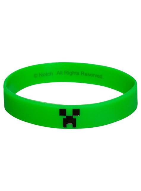 Bransoletka Minecraft Creeper
