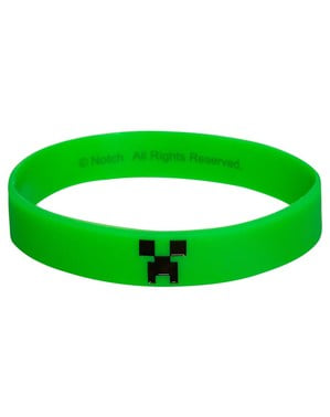 Bracelete de Minecraft Creeper