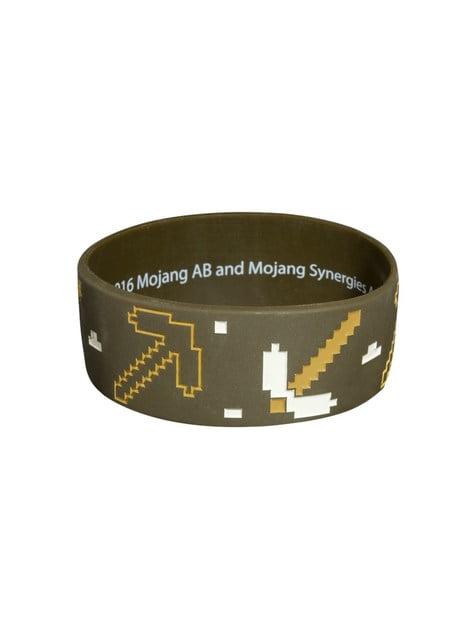Bracelet Minecraft Mineur