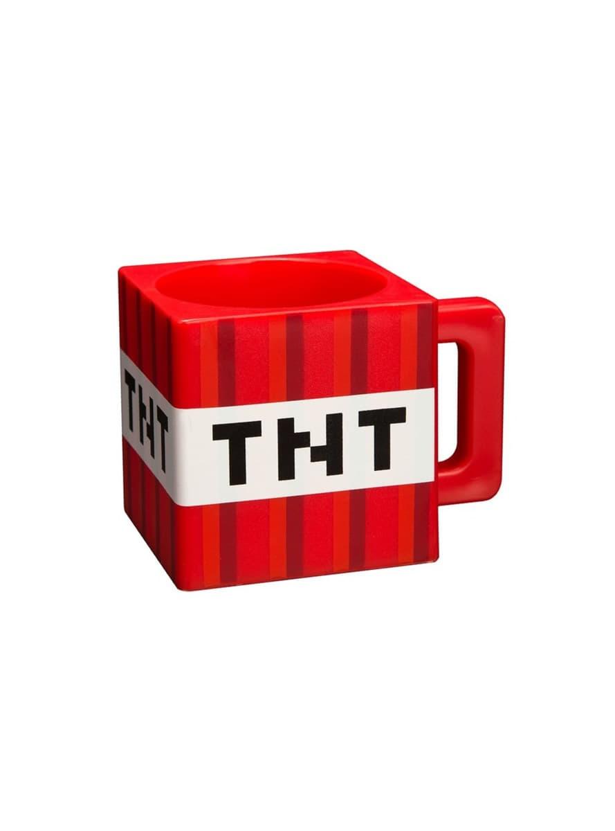 Taza de Minecraft TNT  comprar online en Funidelia. 8dcb1c169d0