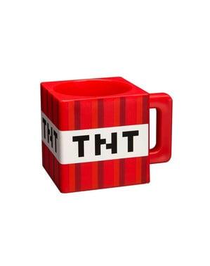Caneca de Minecraft TNT