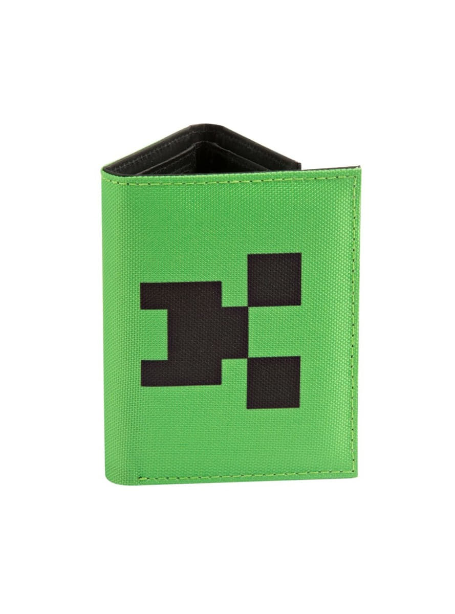 Portefeuille minecraft pocket creeper funidelia for Porte and minecraft