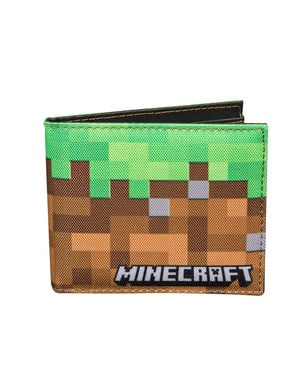 """Портфейл със земя– """"Minecraft"""""""