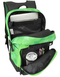 Zelený ruksak Minecraft Creepy Creeper Zelený ruksak Minecraft Creepy  Creeper 5b54bc7754