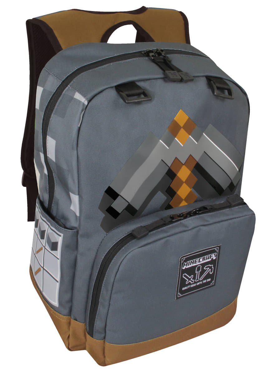 Minecraft Pick backpack for true fans