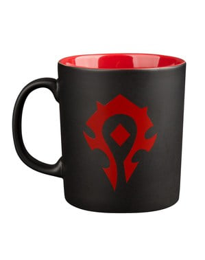 World of Warcraft Horde mug