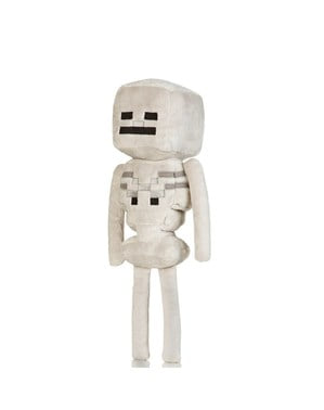 Minecraft Skeleton boneka mainan
